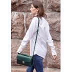 Зелёная кожаная сумка через плечо Blanknote BN-BAG-35-MALACHITE - Фото № 106