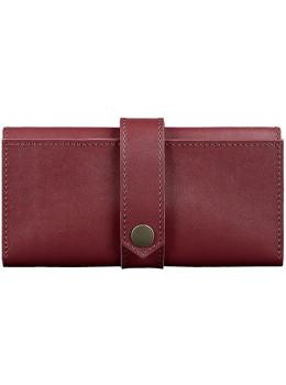 Женский виноградовый кошелек из кожи Blanknote BN-PM-3-vin