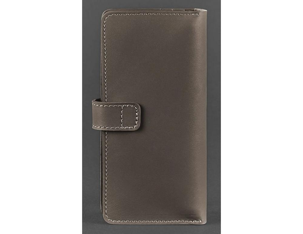 Тёмно-бежевий кошелек Blanknote BN-PM-7-BEIGE - Фото № 4