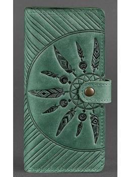 Изумрудный кошелек Blanknote BN-PM-7-IZ-LS