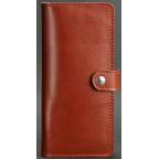 Коричневый кожаный кошелек Blanknote BN-PM-7-K - Фото № 100