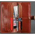 Коричневый кожаный кошелек Blanknote BN-PM-7-K - Фото № 102