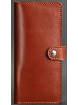 Коричневый кожаный кошелек Blanknote BN-PM-7-K
