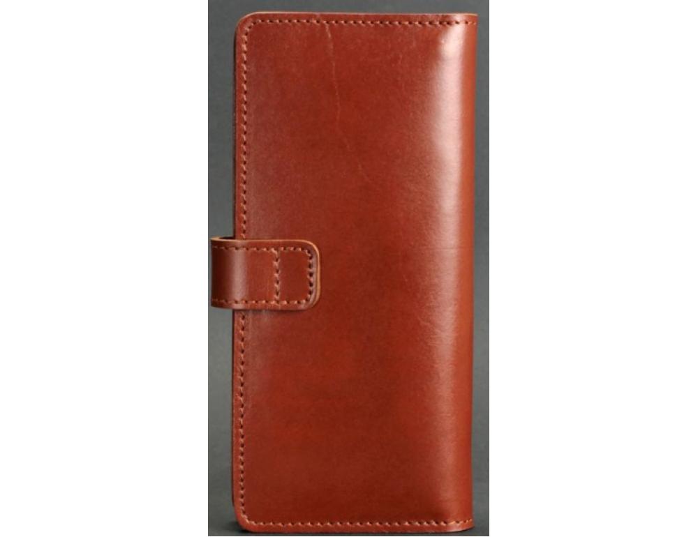 Коричневый кожаный кошелек Blanknote BN-PM-7-K - Фото № 4