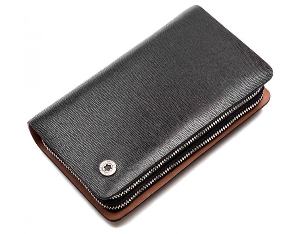 Шкіряний клатч Montblanc Wallet11-7253