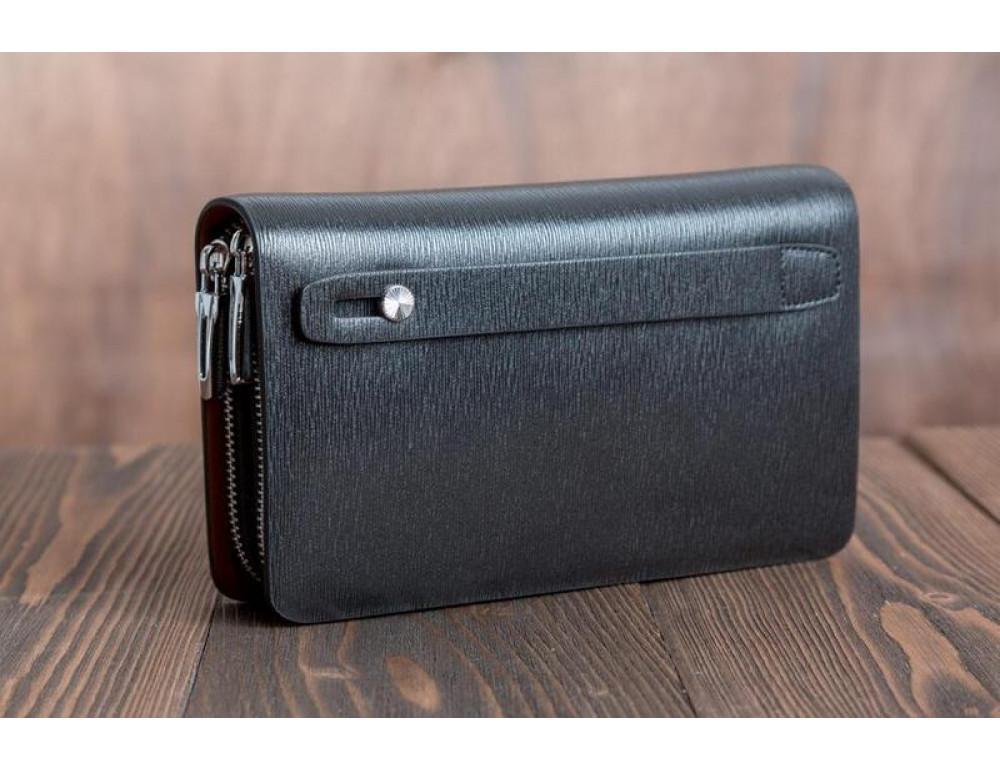 Кожаный клатч Montblanc Wallet11-7253 - Фото № 7