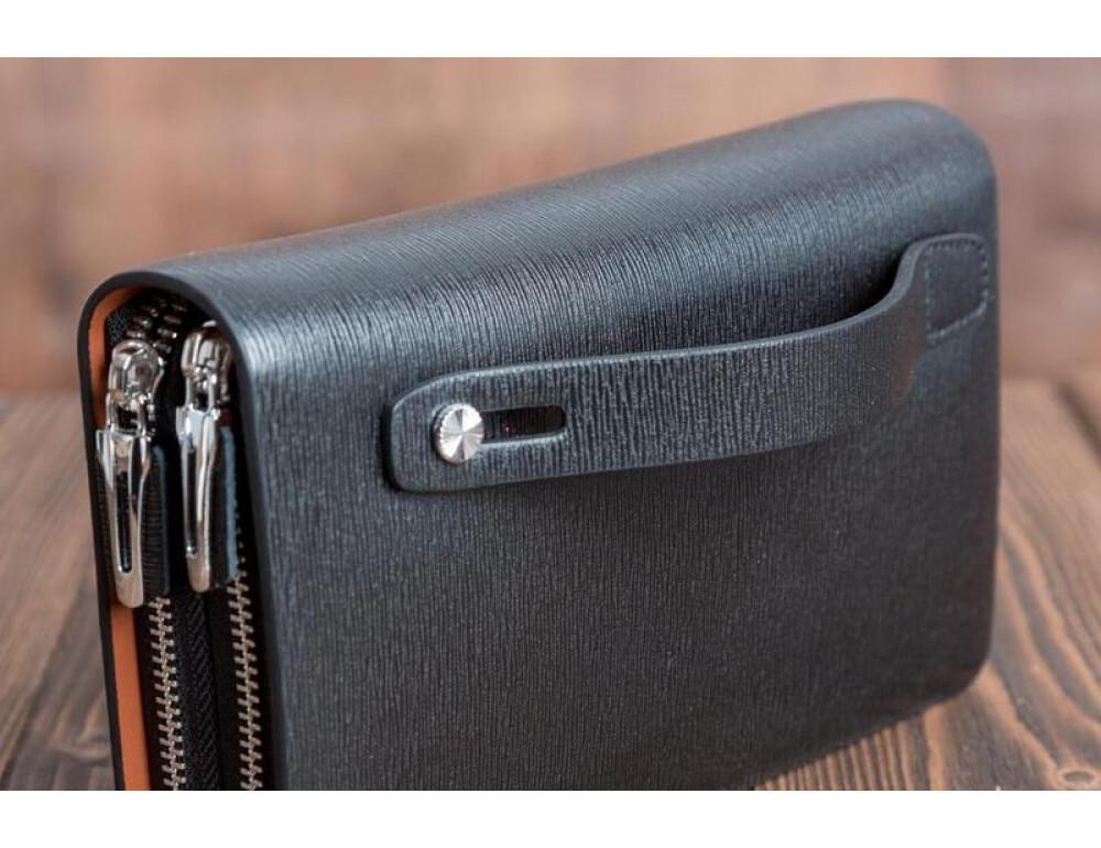 Кожаный клатч Montblanc Wallet11-7253 - Фото № 8