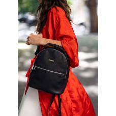 Женский кожаный мини-сумка-рюкзак Kylie BN-BAG-22-onyx черный