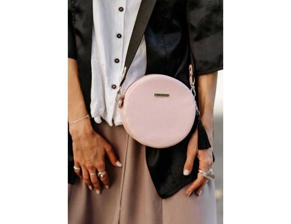Женская круглая сумочка Tablet BN-BAG-23-barbi пудровый