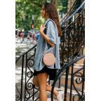 Женская круглая сумочка Tablet BN-BAG-23-crem-brule бежевая - Фото № 105