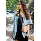 Женская круглая сумочка Tablet BN-BAG-23-crem-brule бежевая - Фото № 106