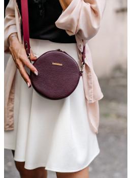 Женская круглая сумочка Tablet BN-BAG-23-marsala марсала
