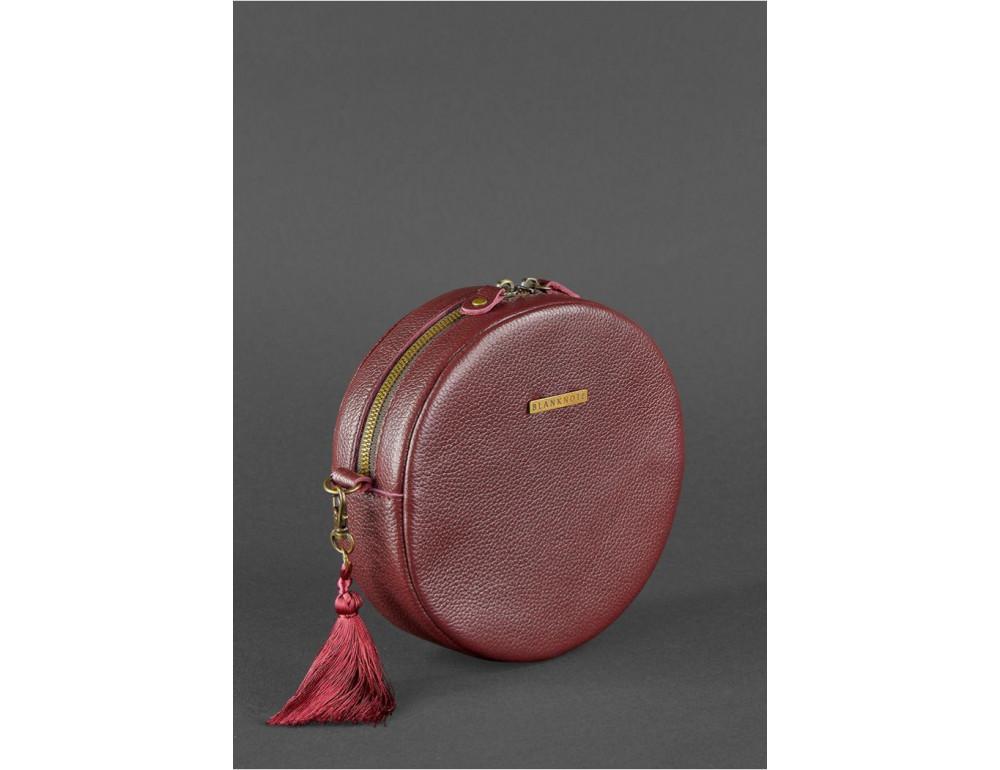 Женская круглая сумочка Tablet BN-BAG-23-marsala марсала - Фото № 3
