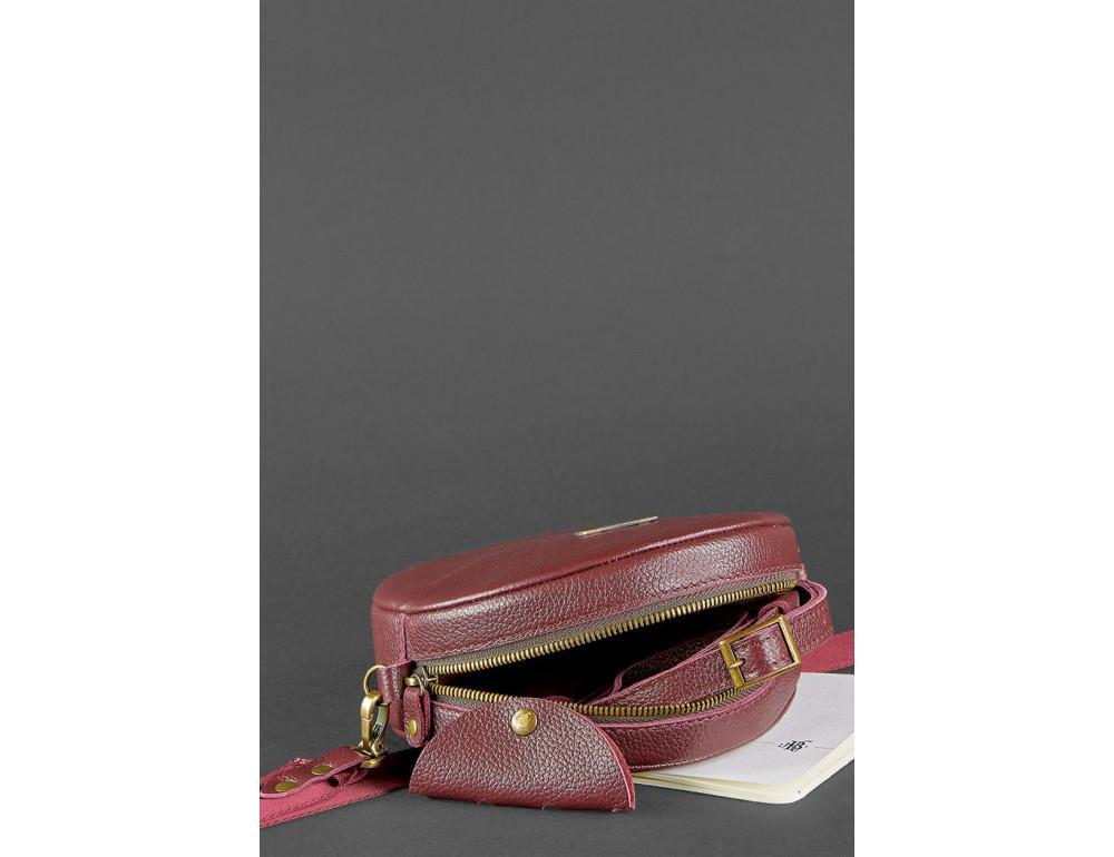Женская круглая сумочка Tablet BN-BAG-23-marsala марсала - Фото № 5