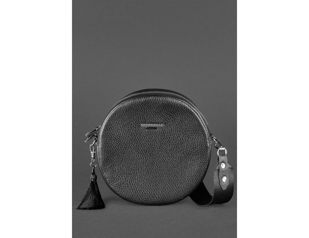 Женская круглая сумочка Tablet BN-BAG-23-onyx черный - Фото № 2
