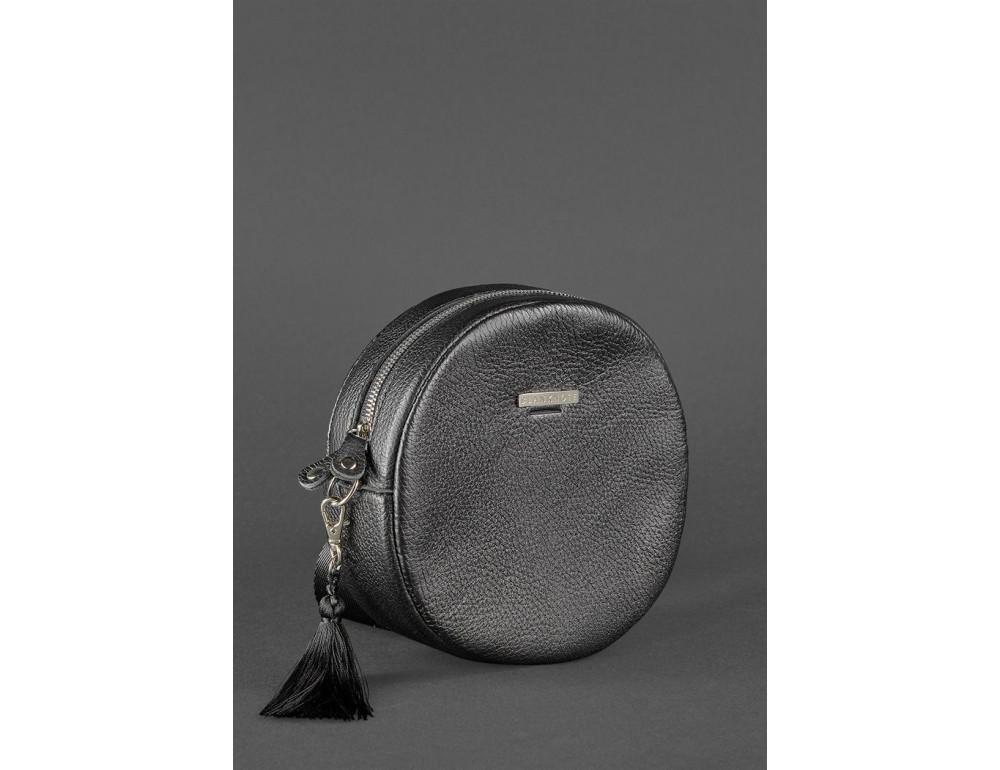 Женская круглая сумочка Tablet BN-BAG-23-onyx черный - Фото № 3