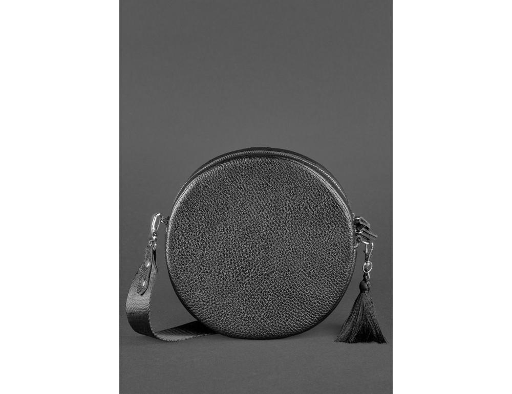 Женская круглая сумочка Tablet BN-BAG-23-onyx черный - Фото № 4