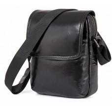 Мужская сумка через плечо TIDING BAG 8027A чёрная