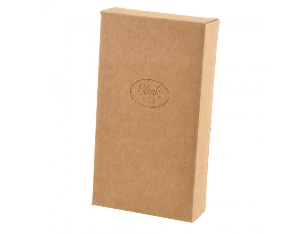 Чорний шкіряний гаманець Blanknote BN-PM-3-G - Фото № 7