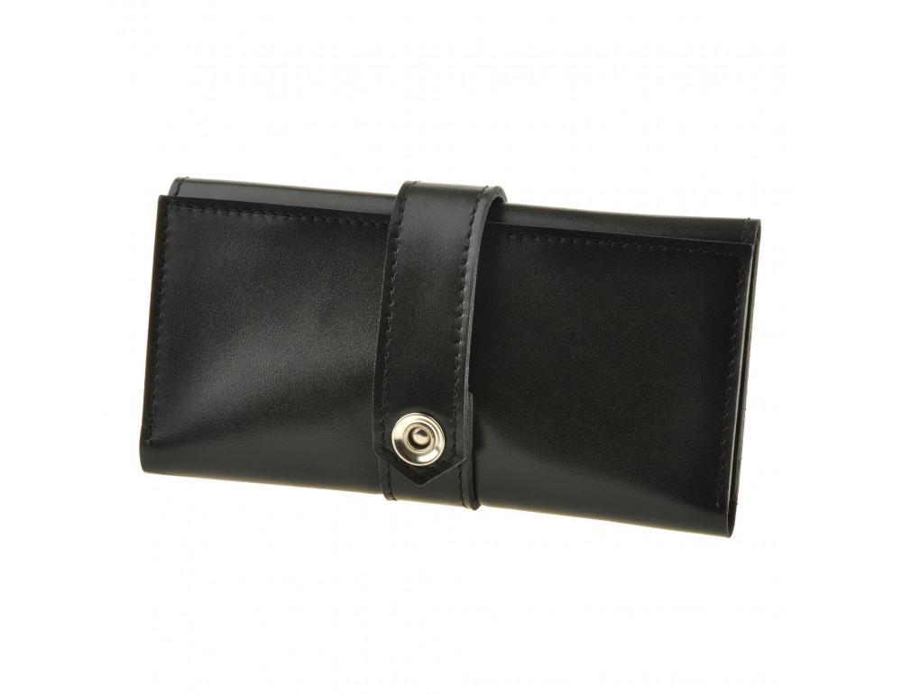 Шкіряний гаманець Blanknote bn-pm-3-ygol чорний