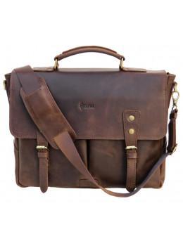 Коричневий чоловічий портфель TARWA RС-3960-4lx