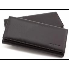 Кожаный кошелек MARCO COVERNA Mc1415-1 Чёрный