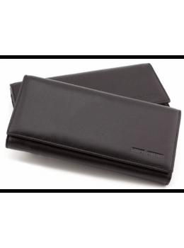 Кожаный кошелек MARCO COVERNA TRW8584A Чёрный
