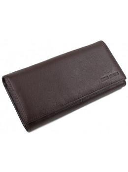Кожаный кошелек MARCO COVERNA TRW8584B коричневый