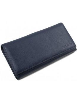 Кожаный кошелек MARCO COVERNA TRW8584BL Синий