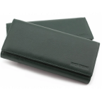 Зелёный кожаный кошелек MARCO COVERNA mc1415-7 green - Фото № 100