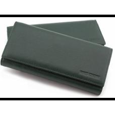 Кожаный кошелек MARCO COVERNA TRW8584Gr зелёный