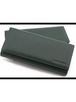 Шкіряний гаманець MARCO COVERNA TRW8584Gr зелений