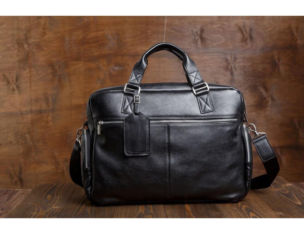 Мужская кожаная сумка Blamont Bn002A - Фото № 10