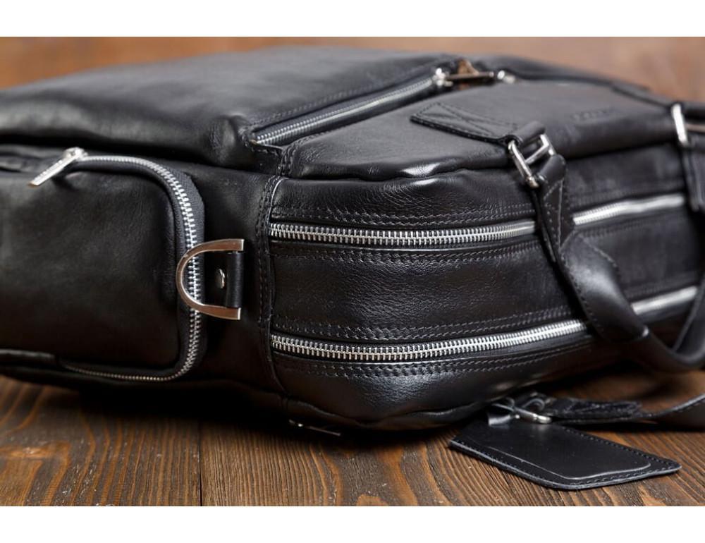 Мужская кожаная сумка Blamont Bn002A - Фото № 9