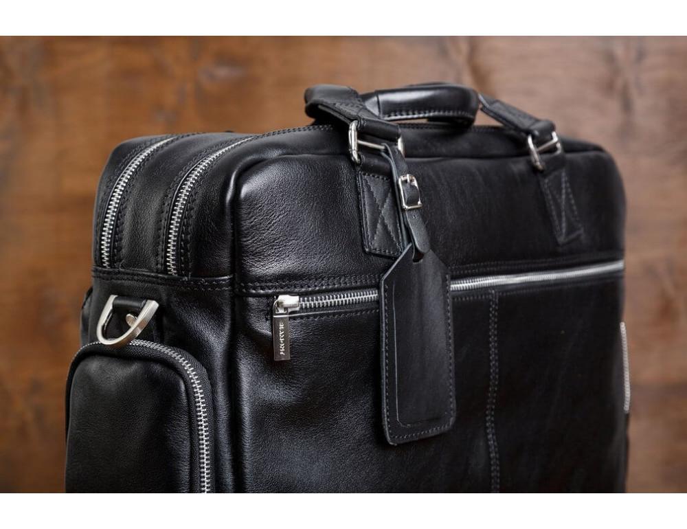 Мужская кожаная сумка Blamont Bn002A - Фото № 7