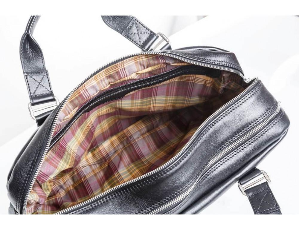 Мужская кожаная сумка Blamont Bn002A - Фото № 6