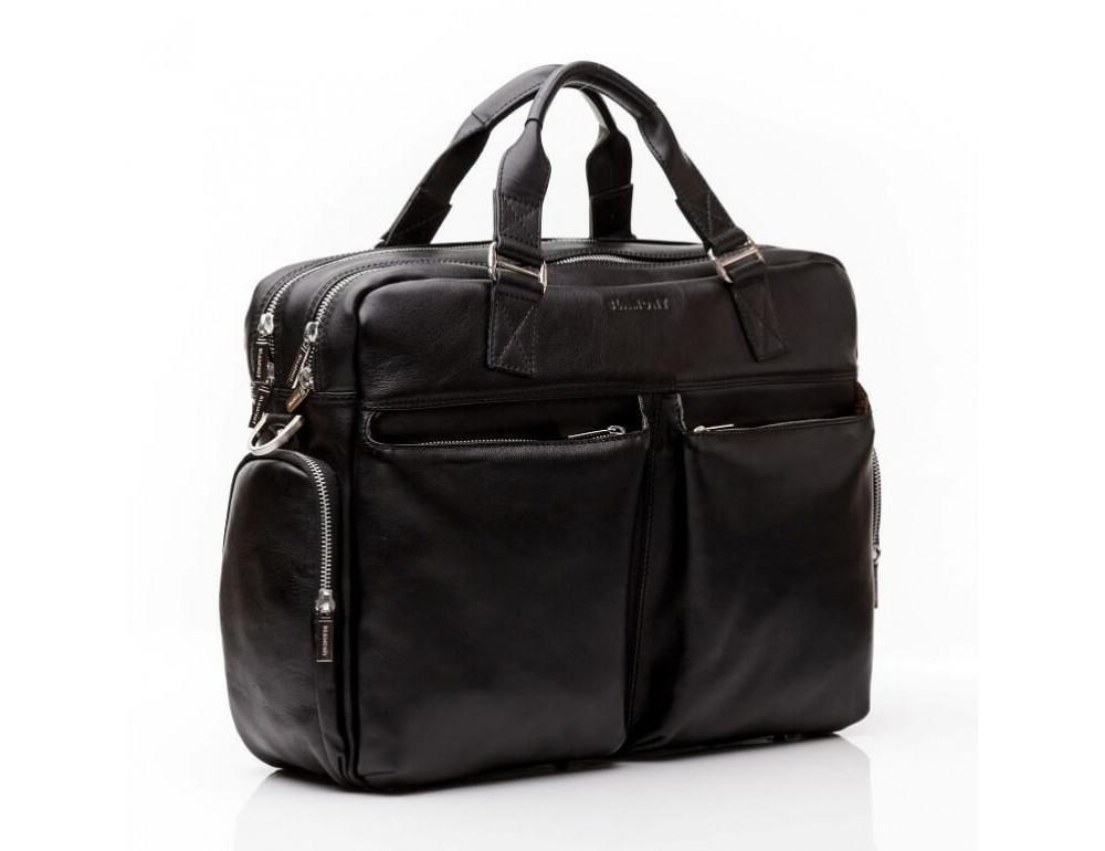 Мужская кожаная сумка Blamont Bn002A - Фото № 5