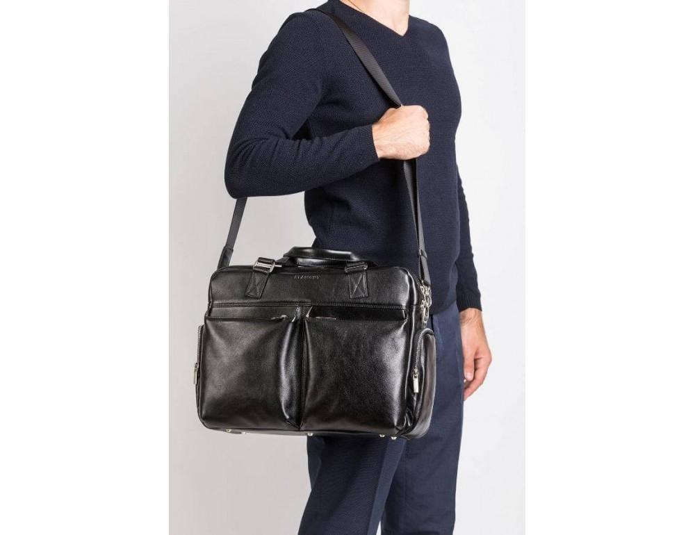 Мужская кожаная сумка Blamont Bn002A - Фото № 2