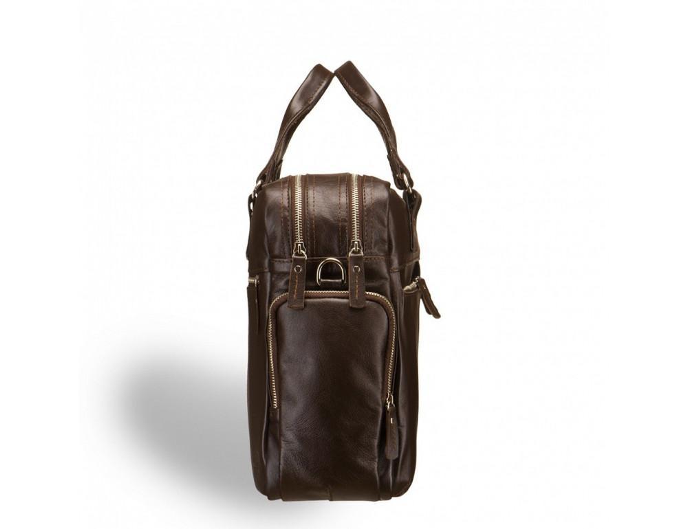 Мужская кожаная сумка Blamont Bn002C - Фото № 4