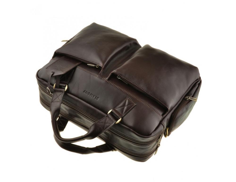 Мужская кожаная сумка Blamont Bn002C - Фото № 5