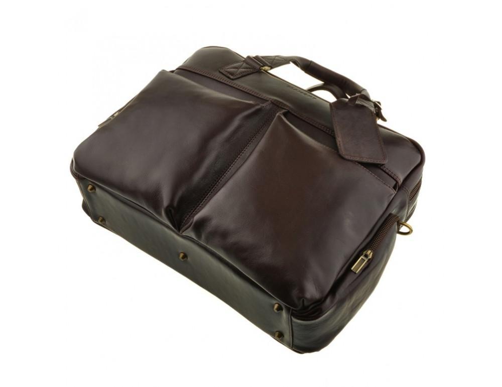 Мужская кожаная сумка Blamont Bn002C - Фото № 6
