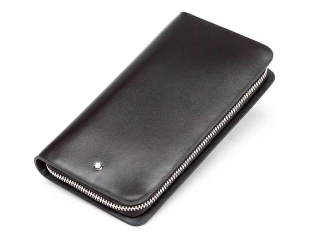 Кожаный клатч Montblanc Wallet11-5551