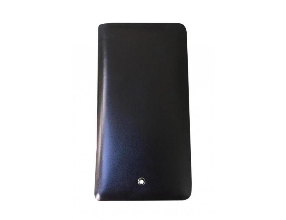 Кожаный клатч Montblanc Wallet11-5551 - Фото № 3