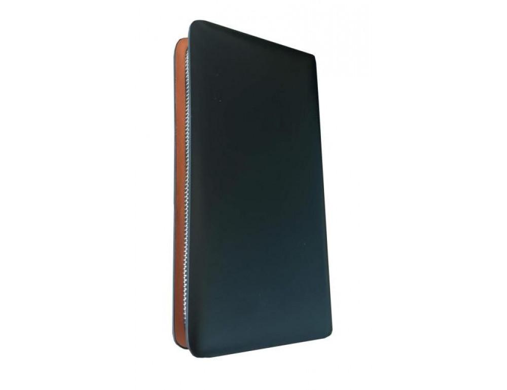 Кожаный клатч Montblanc Wallet11-5551 - Фото № 4