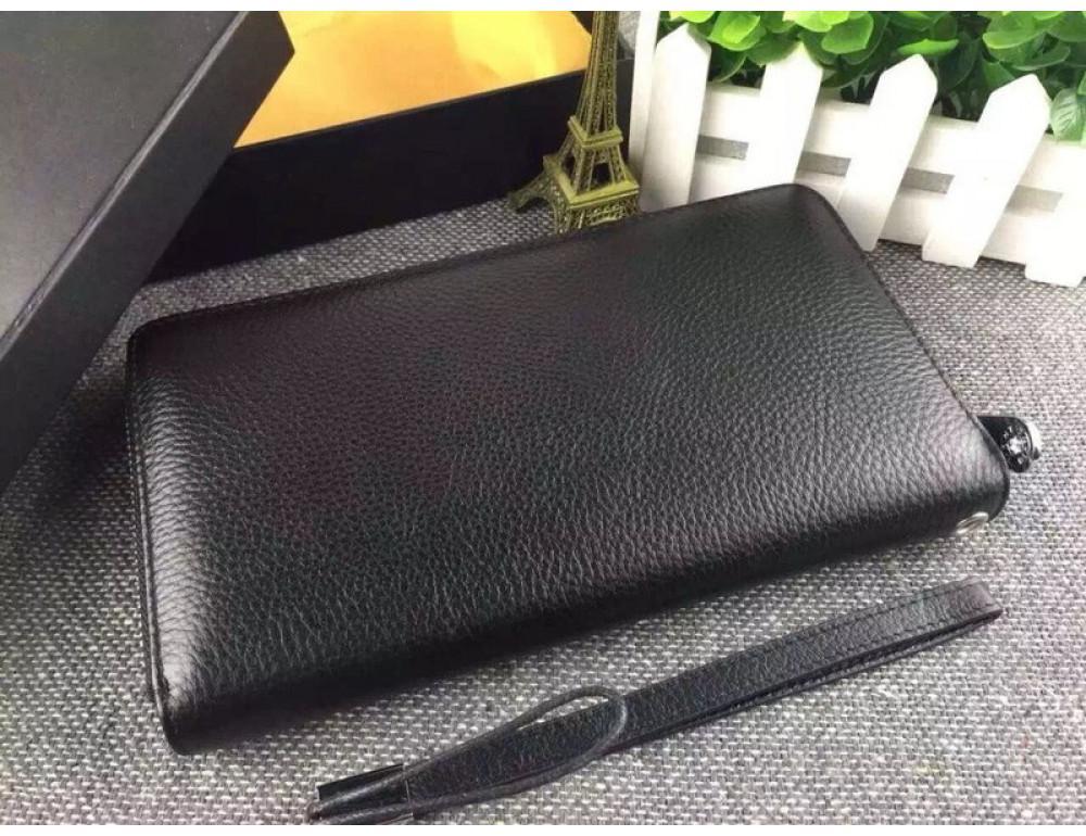 Кожаный клатч Montblanc Wallet4-2664 - Фото № 2