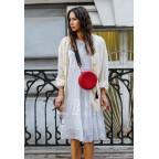 Женская круглая сумочка Tablet BN-BAG-23-rubin красная - Фото № 108