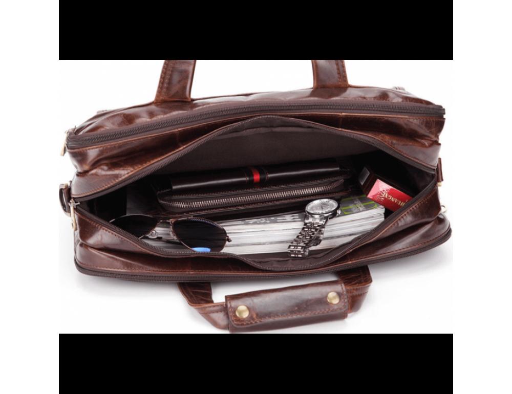 Мужская сумка JASPER&MAINE 7146C - Фото № 9