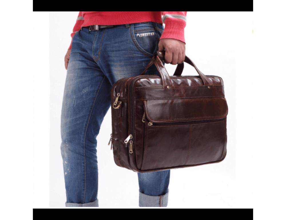 Мужская сумка JASPER&MAINE 7146C - Фото № 11