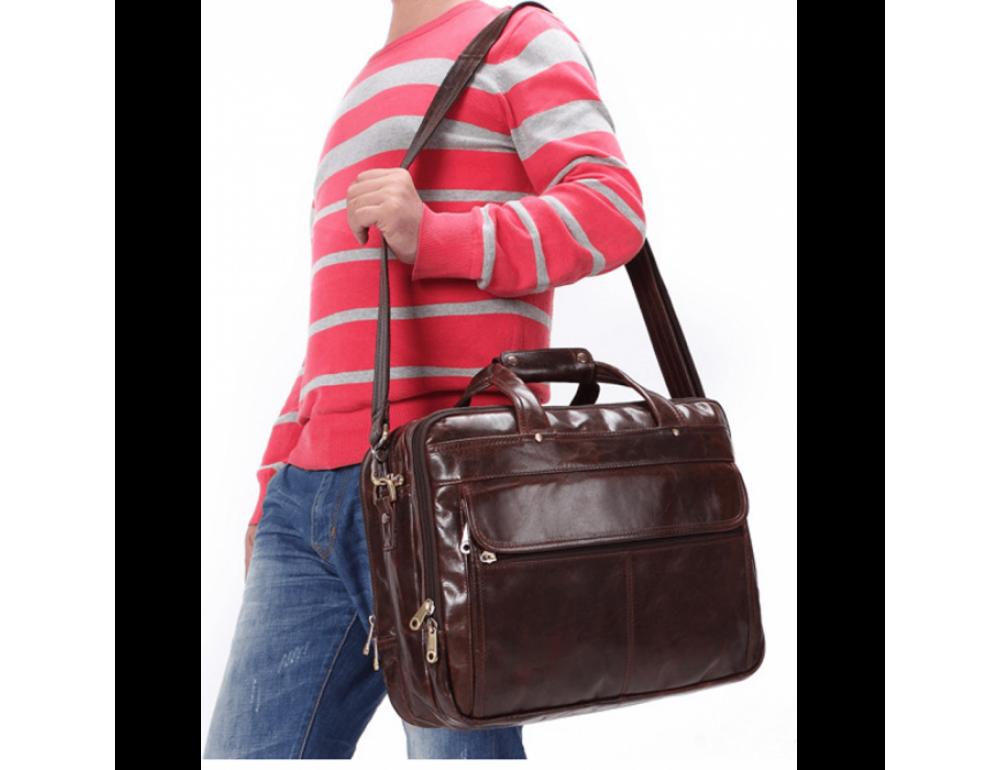 Мужская сумка JASPER&MAINE 7146C - Фото № 12