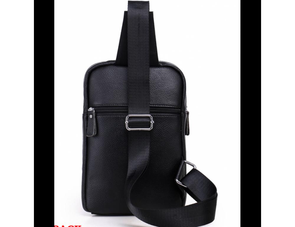 Мужской кожаный мессенджер TIDING BAG A25-6896A - Фото № 4